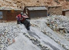Bányászat, ezüstbánya (Potosi, Bolívia)