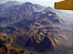 Magas-Tátra repülőről