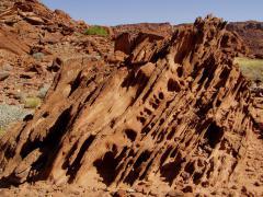 Homokkő rétegfej (Namíbia)