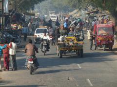 Agra-Fatehpur Sikriben közlekedés
