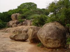 Aprózódás-mállás, inkókőképződés (Dél-India)
