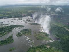 Viktóriai-vízesés (Zimbabwe-Zambia)