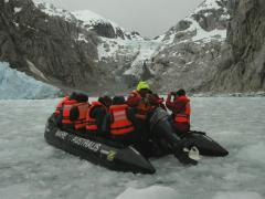 Jégkásában (Tűzföld, Chile)