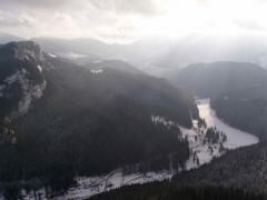 Hegyomlás (Gyilkos-tó, Erdély, Románia)