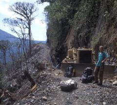 Útépítés (Andok, Bolívia)