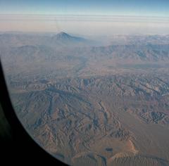 Észak-Irán repülőről