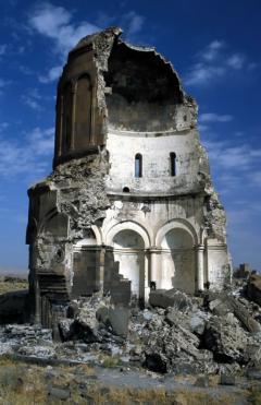 Ani földrengés nyoma (Törökország)